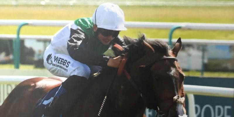 Webbs sponsored Jockey gives his first update