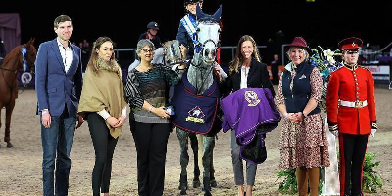 Webbs showjumping sponsorship going from strength to strength